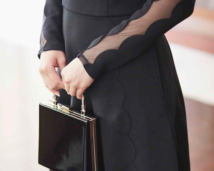 結婚式 ドレス 黒