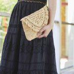 夏でも着たい!サマーブラックドレス